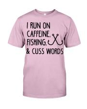 I RUN ON CAFFEINE FISHING Classic T-Shirt thumbnail
