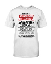 Stubborn Daughter Classic T-Shirt thumbnail