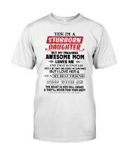 Stubborn Daughter Premium Fit Mens Tee thumbnail