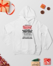 Stubborn Daughter Hooded Sweatshirt lifestyle-holiday-hoodie-front-2