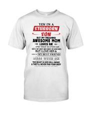 Stubborn Son Classic T-Shirt thumbnail