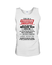 Stubborn Daughter Unisex Tank thumbnail