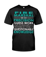 Fire Marshal Classic T-Shirt front