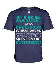 Fire Marshal V-Neck T-Shirt thumbnail
