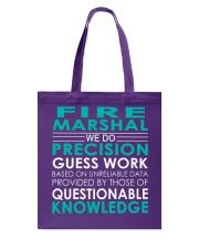 Fire Marshal Tote Bag thumbnail