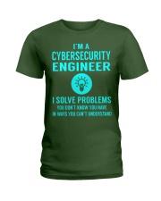 Cybersecurity Engineer Ladies T-Shirt thumbnail