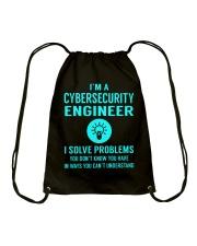 Cybersecurity Engineer Drawstring Bag thumbnail