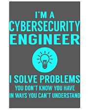 Cybersecurity Engineer 11x17 Poster thumbnail