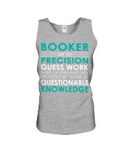 Booker Unisex Tank thumbnail