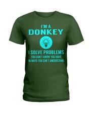 Donkey Ladies T-Shirt thumbnail