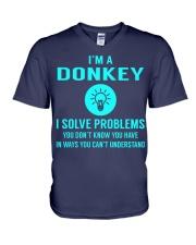 Donkey V-Neck T-Shirt thumbnail