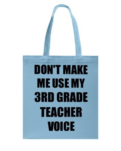 3rd Grade Teacher Voice