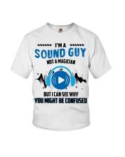 Sound Guy Not Magician Youth T-Shirt thumbnail