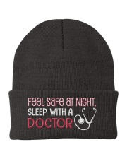 Feel Safe At Night Sleep With Doctor Knit Beanie thumbnail