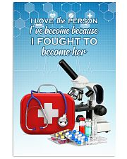 I Fought To Become Doctor 11x17 Poster front