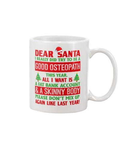 Dear Santa Good Osteopath