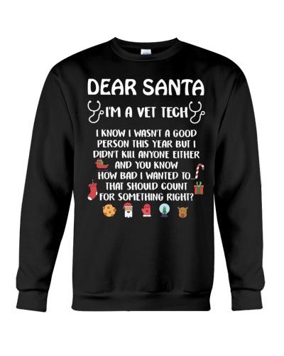 Dear Santa I'm A Vet Tech