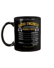 Audio Engineer Hourly Rate Mug back