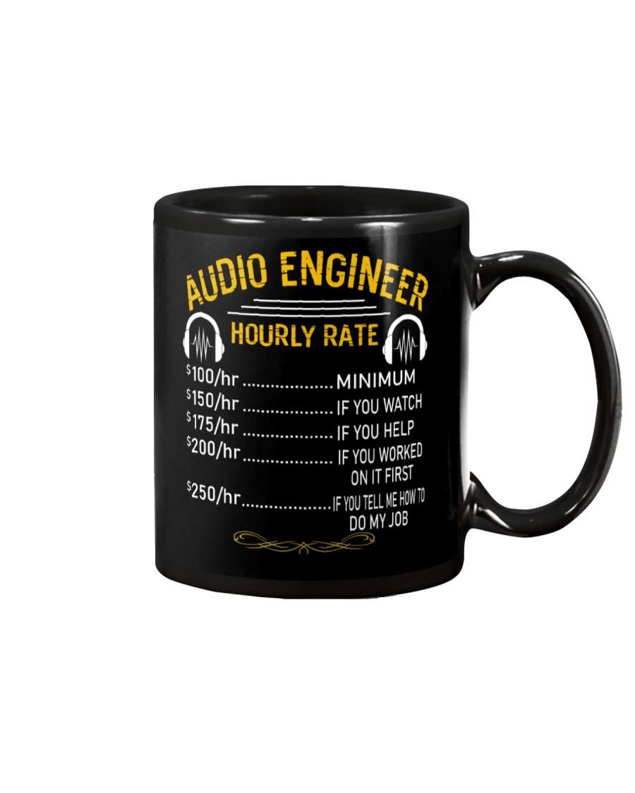 Audio Engineer Hourly Rate Mug