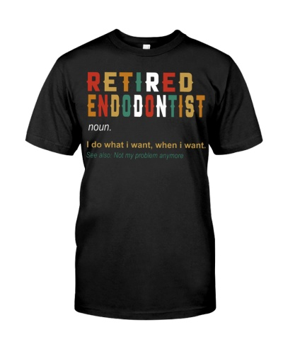 Retired Endodontist