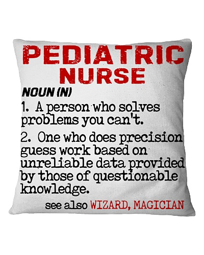 Pediatric Nurse Noun