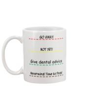 Give Dental Advice Mug back