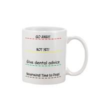 Give Dental Advice Mug front