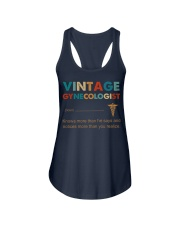 Vintage Gynecologist Knows More Than He Says Ladies Flowy Tank thumbnail