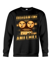 Quarantine and Chill Reel to Reel Crewneck Sweatshirt thumbnail
