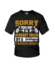 Sorry This Guy Taken By Cardiologist Youth T-Shirt thumbnail
