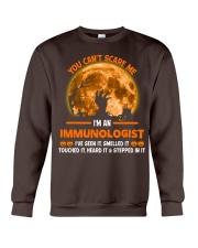 You Can't Scare Me Immunologist Crewneck Sweatshirt thumbnail