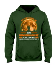 You Can't Scare Me Immunologist Hooded Sweatshirt thumbnail