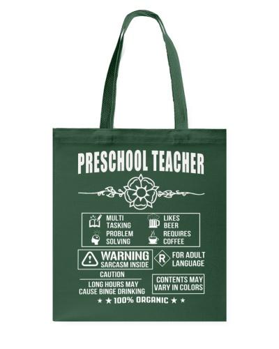 Multi Tasking Preschool Teacher