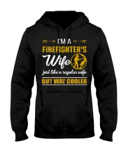 Cool Firefighter's Wife Hooded Sweatshirt front