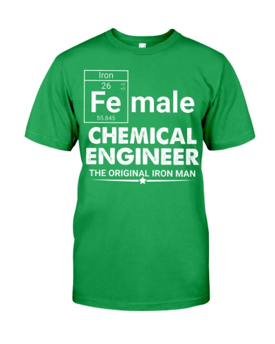 Chemical Engineer Female