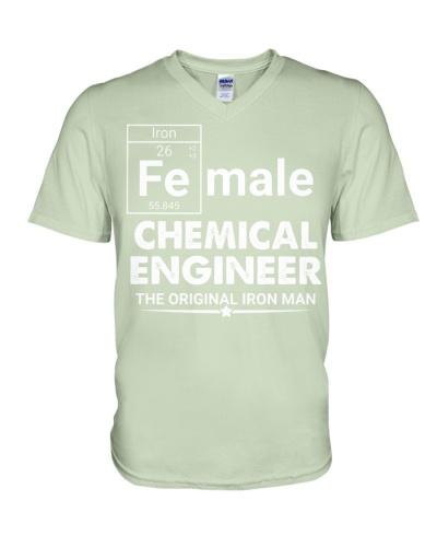 Chemical Engineer Female
