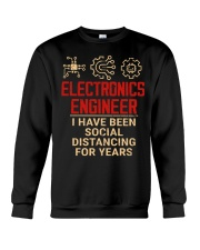Electronics Engineer Has Been Social Distancing Crewneck Sweatshirt thumbnail