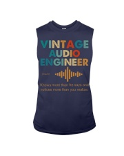 Vintage Audio Engineer Knows More Than He Says Sleeveless Tee thumbnail