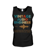 Vintage Audio Engineer Knows More Than He Says Unisex Tank thumbnail