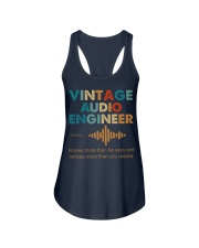 Vintage Audio Engineer Knows More Than He Says Ladies Flowy Tank thumbnail