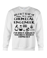 Chemical Engineer You Can't Scare Me Crewneck Sweatshirt thumbnail