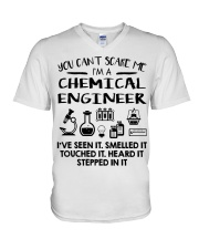 Chemical Engineer You Can't Scare Me V-Neck T-Shirt thumbnail