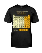 Periodic Table Of Beer Classic T-Shirt front