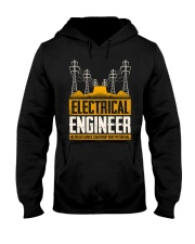Electrical Engineer No Resistance Hooded Sweatshirt front