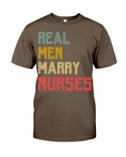 Real Men Marry Nurses Classic T-Shirt thumbnail