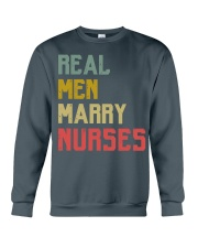 Real Men Marry Nurses Crewneck Sweatshirt thumbnail