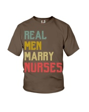 Real Men Marry Nurses Youth T-Shirt thumbnail