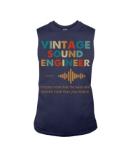 Vintage Sound Engineer Knows More Than He Says Sleeveless Tee thumbnail
