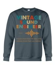 Vintage Sound Engineer Knows More Than He Says Crewneck Sweatshirt thumbnail