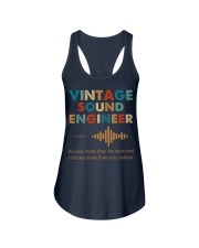 Vintage Sound Engineer Knows More Than He Says Ladies Flowy Tank thumbnail